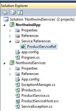 WCF Client Application