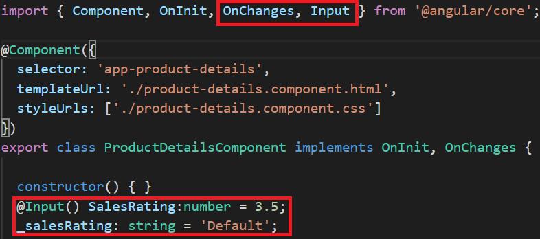 angular input decorator
