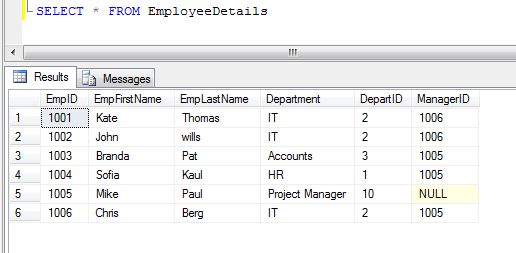 sql server select all rows